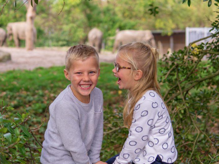 Fotografie dagje uit dierentuin